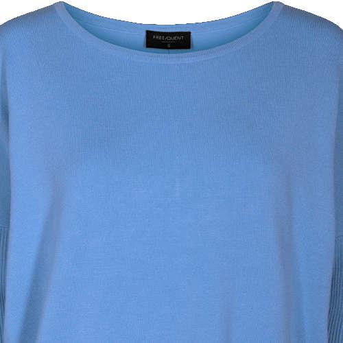 Freequent truien jone-pu in het Licht Blauw