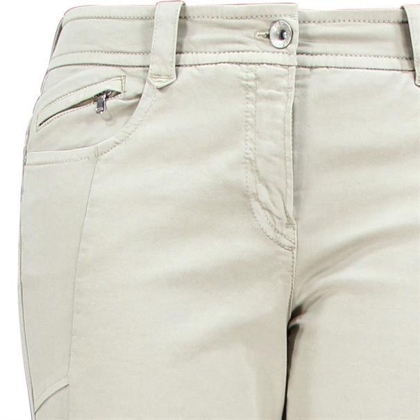 Gardeur broek zuri62 80501 in het Beige