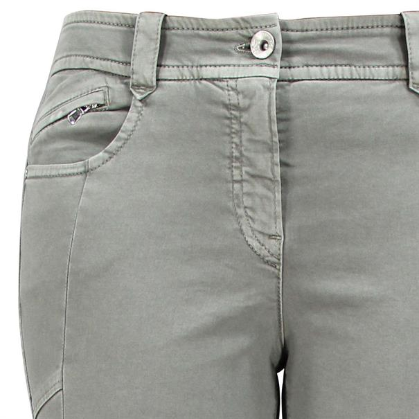 Gardeur broek zuri62 80501 in het Khaky