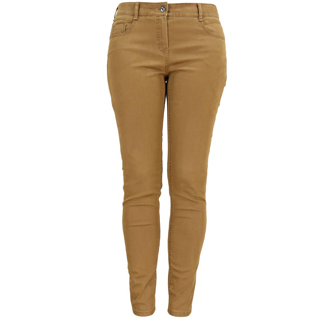 Image of Gardeur broek zuri90 61886 in het Camel