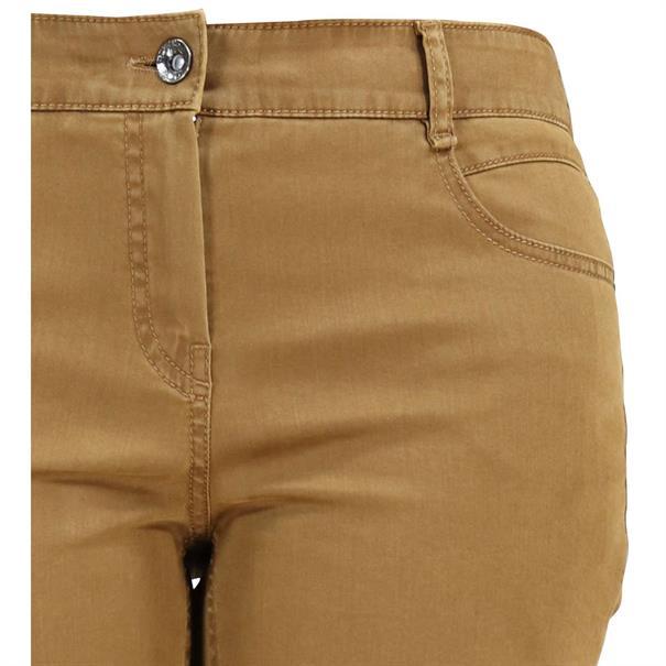 Gardeur broek zuri90 61886 in het Camel
