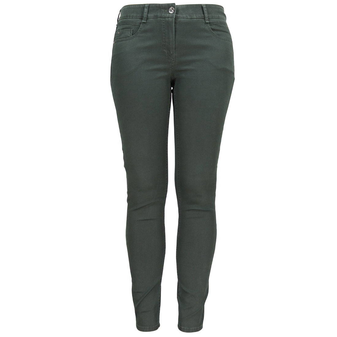 Image of Gardeur broek zuri90 61886 in het Donker Groen