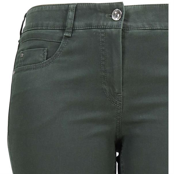 Gardeur broeken zuri90 61886 in het Donker Groen