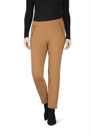 Gardeur pantalons Slim Fit zene28 600261 in het Bruin