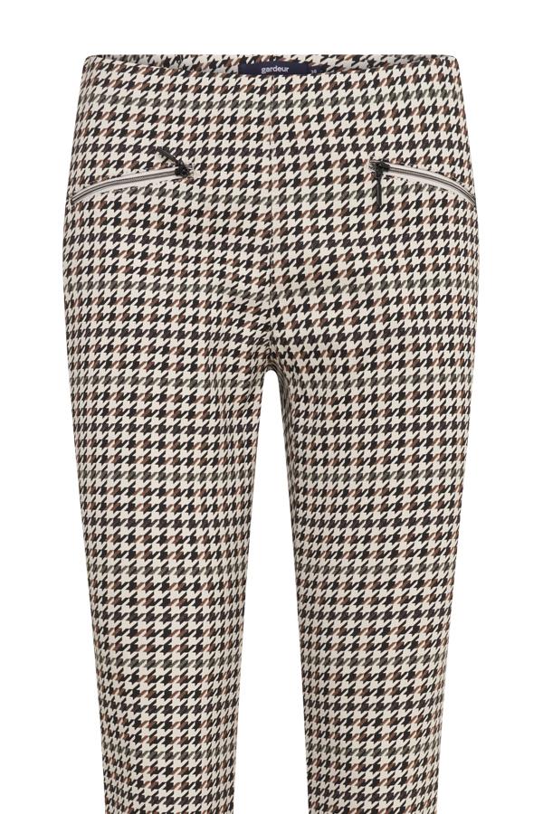 Gardeur pantalons zene10 621501 in het Camel