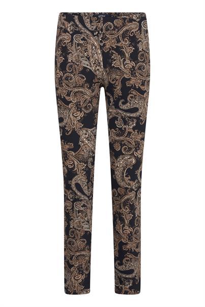 Gardeur pantalons zene14 643701 in het Bruin