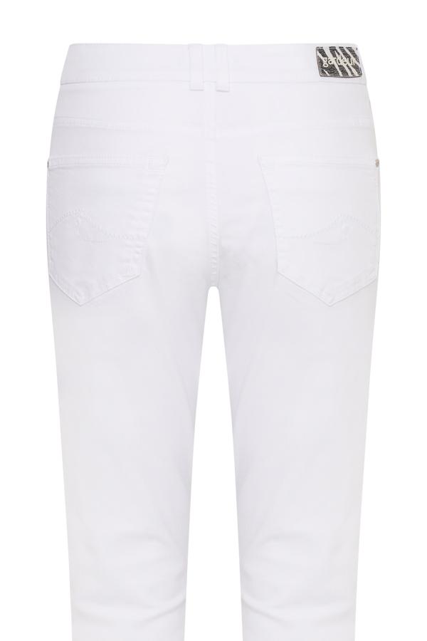 Gardeur pantalons zuri90 670601 in het Offwhite