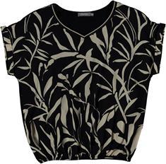 Geisha blouse 03140-23 in het Zwart