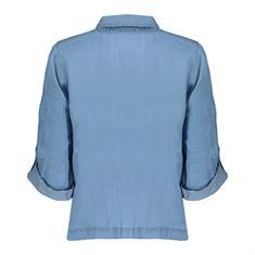 Geisha blouse 03171-70 in het Licht Denim