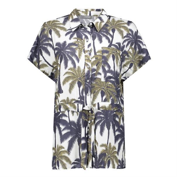 Geisha blouse 03190-20 in het Offwhite