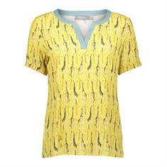 Geisha blouse 03212-20 in het Geel