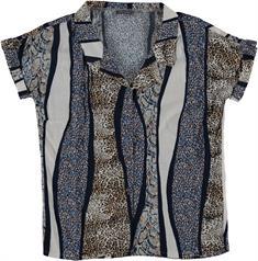 Geisha blouse 03285-20 in het Beige
