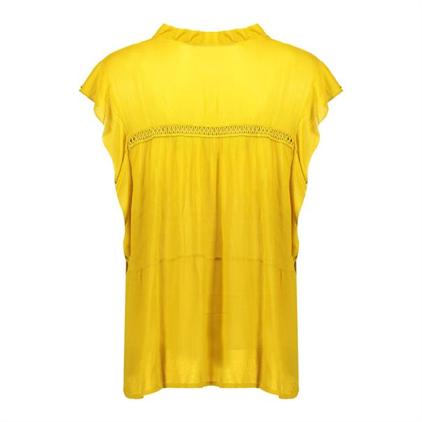 Geisha blouse 03294-70 in het Geel