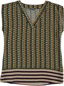 Geisha blouse 03414-20 in het Camel