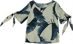 Geisha blouse 03415-20 in het Hemels Blauw