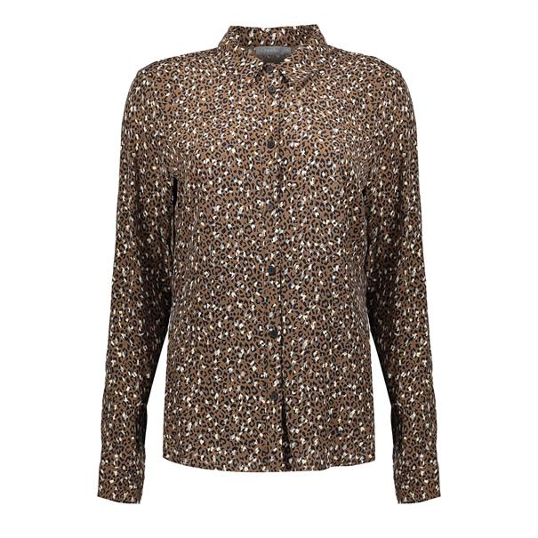 Geisha blouse 03645-20 in het Taupe