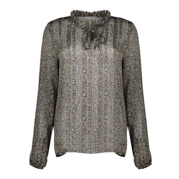Geisha blouse 03658-20 in het Zwart
