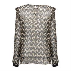 Geisha blouse 03669-20 in het Zwart