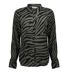 Geisha blouse 03904-20 in het Groen