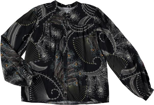Geisha blouse 03905-20 in het Zwart