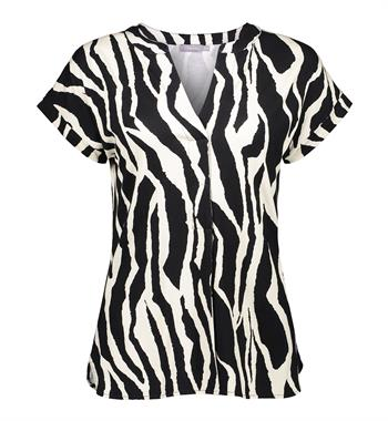 Geisha blouse 12071-20 in het Zwart