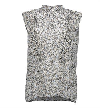 Geisha blouse 13046-14 in het Zwart / Wit