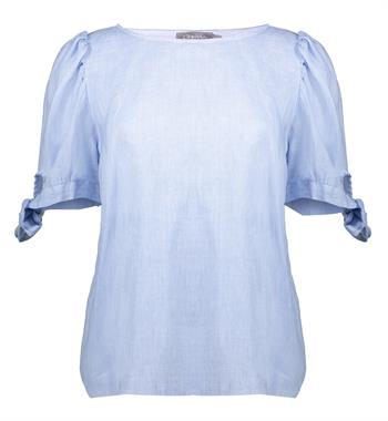Geisha blouse 13054-70 in het Licht Blauw