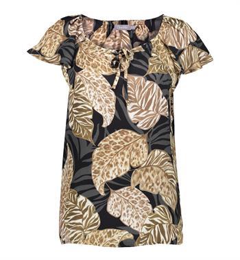 Geisha blouse 13181-20 in het Zwart