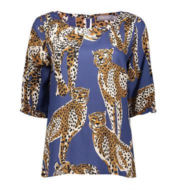 Geisha blouse 13196-20 in het Hemels Blauw