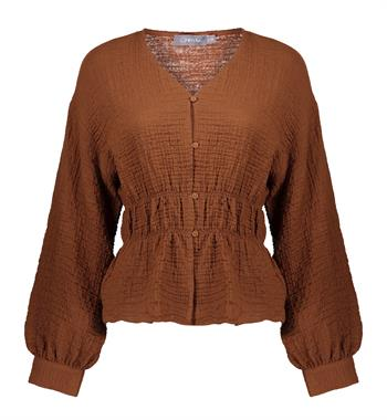 Geisha blouse 13216-20 in het Bordeaux