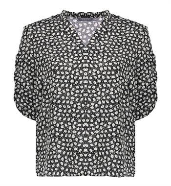 Geisha blouse 13224-20 in het Zwart