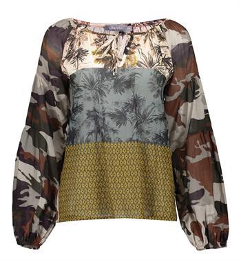 Geisha blouse 13225-20 in het Beige
