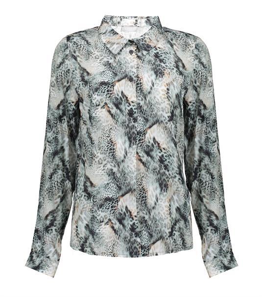 Geisha blouse 13653-20 in het Groen