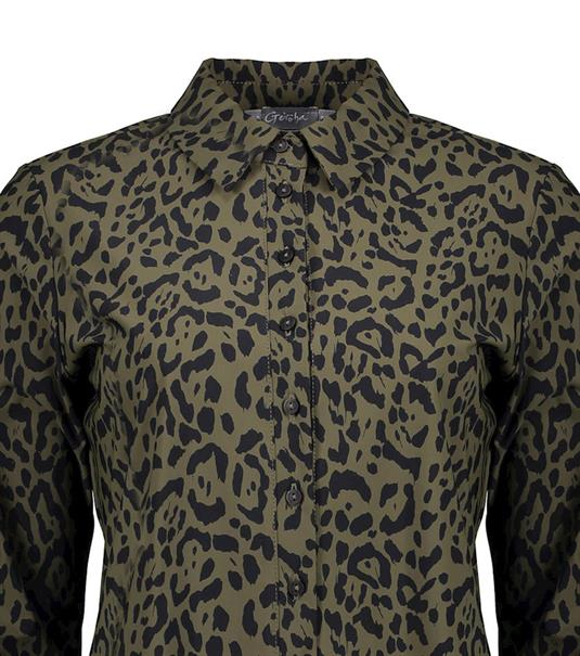Geisha blouse 13742-20 in het Zwart