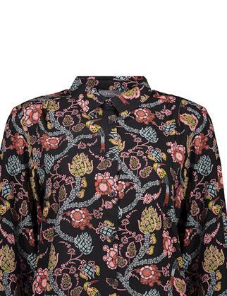 Geisha blouse 13953-20 in het Zwart