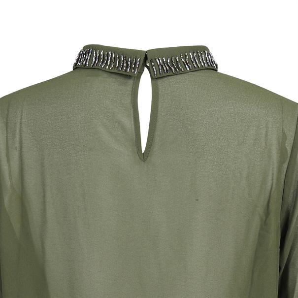 Geisha blouse 83513-10 in het Groen