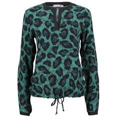 Geisha blouse 83675-42 in het Petrol