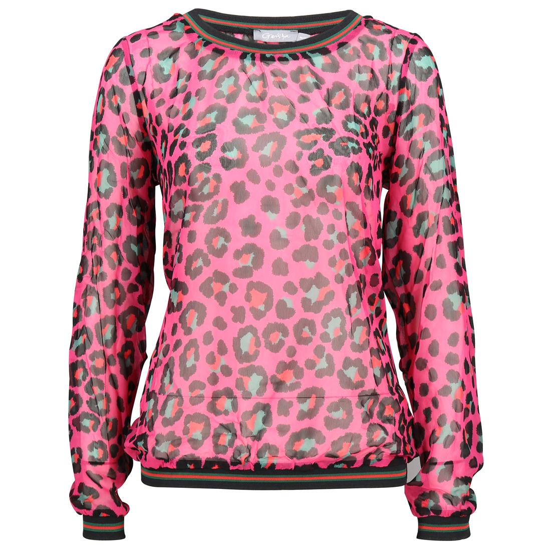Geisha blouse 83769-20 in het Roze