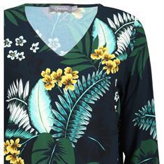 Geisha blouse 93103-20 in het Marine