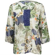 Geisha blouse 93186-20 in het Oker