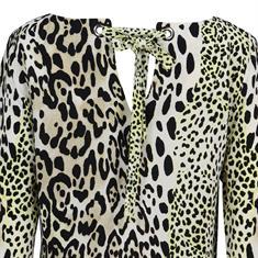Geisha blouse 93275-20 in het Oker