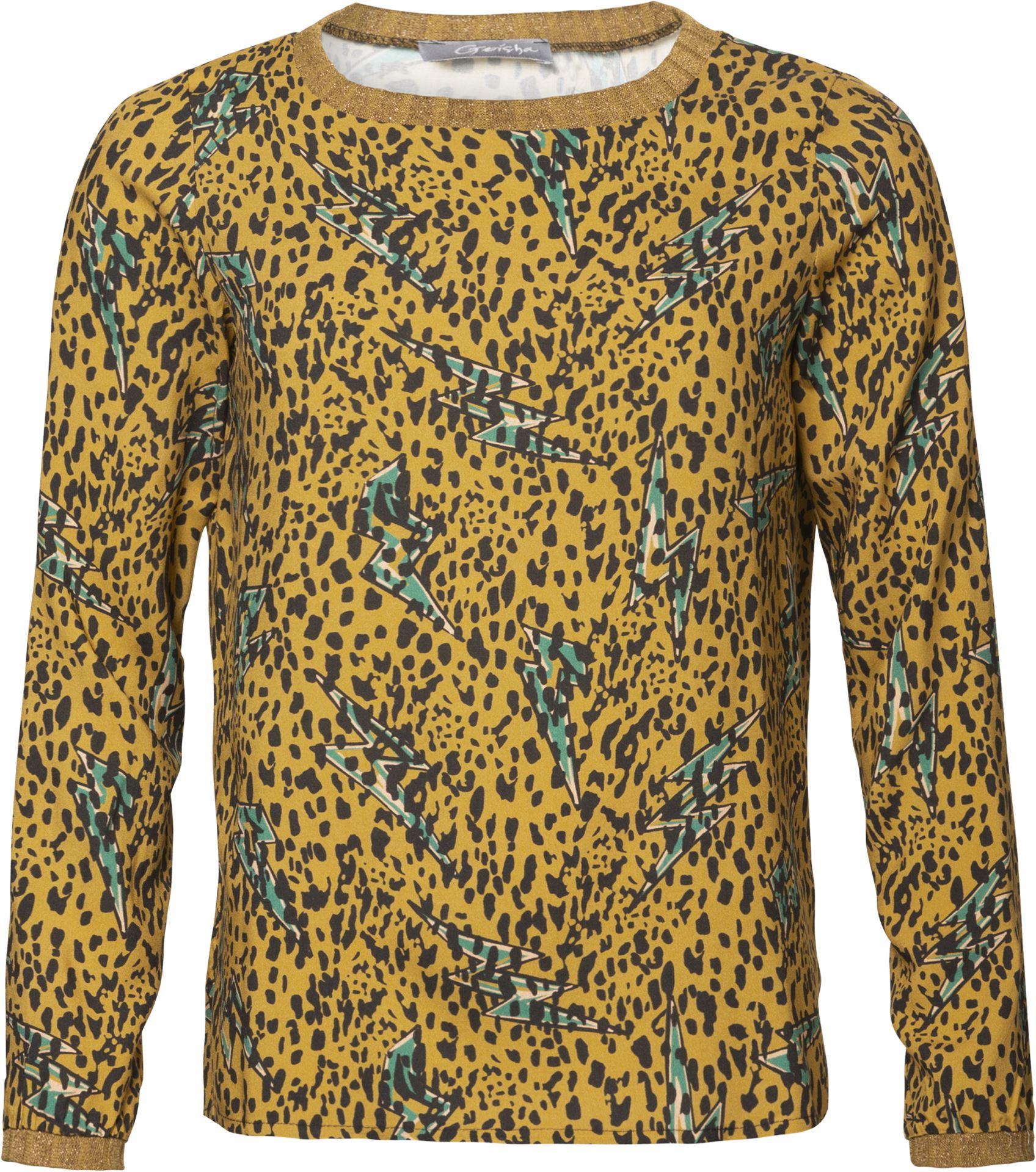 Smit Mode: Geisha blouse 93670 20 in het Oker