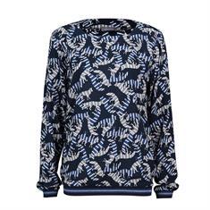 Geisha blouse 93691-20 in het Aqua