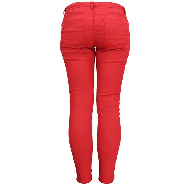 Geisha broeken 91077-99 in het Rood