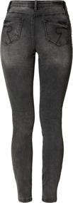 Geisha jeans 91513-10 in het Grijs