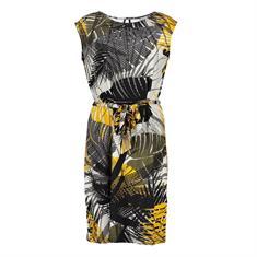Geisha jurk 07358-60 SKY in het Geel
