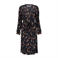 Geisha jurk 07625-20 in het Zwart
