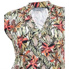 Geisha jurk 91089-60 in het Groen