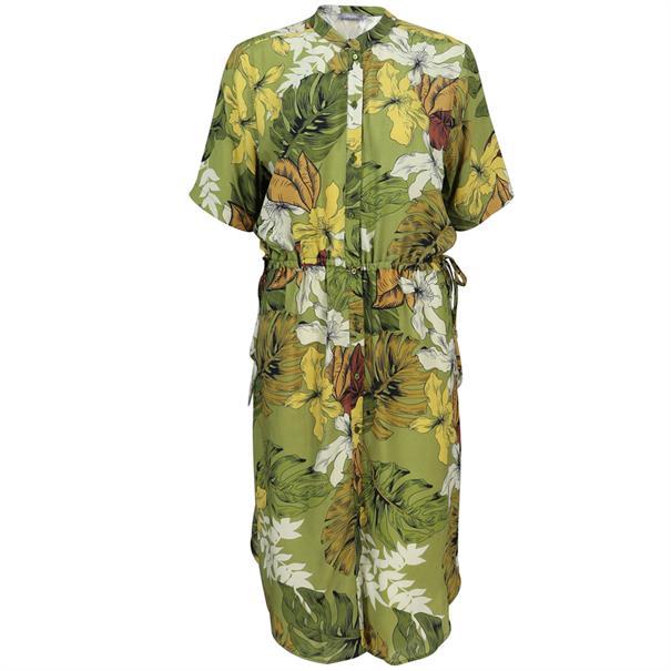 Geisha jurk 97463-20 in het Oker