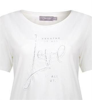 Geisha t-shirts 02869-46 in het Offwhite